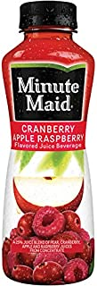 Minute Maid Cranberry Apple Raspberry 12 oz Plastic Bottles - Pack of 24