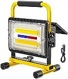 XH&XH Foco de construcción LED Foco de batería de 180W Luz de...