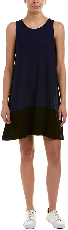 Lilla P color Block Dress In Black Navy
