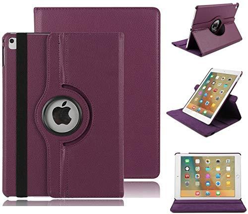 Miya System Ltd Custodia per iPad Mini 6 da 8,3 Pollici 2021, Custodia con Supporto Girevole a 360 Gradi, Copertina a Libro, Custodia Protettiva Leggera per iPad Mini 6 8,3'' 2021 (M7)