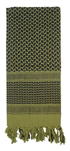 Rothco Shemagh Tactical Desert Scarf, Olive DRAB