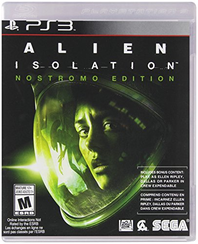 SEGA Alien Isolation, PS3