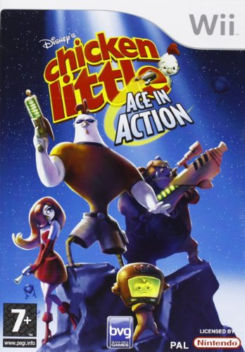Chicken Little: Ace in Action (Wii) [import anglais]