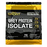 California Gold Nutrition 100% Whey Protein Isolate, Unflavored, 5 lb (2.27 kg)