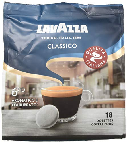 Lavazza Kaffee Pads - Classico - 180 Pads - 10er Pack (10 x 125 g)