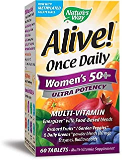 Nature's Way Nature s Way Alive Once Daily Women s 50 Multi-Vitamin 60 Tablets