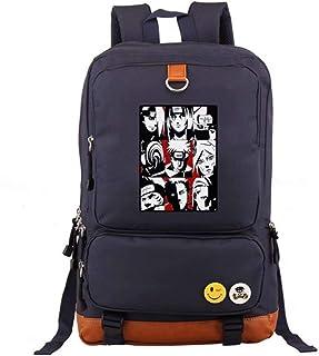 Naruto Mochilas Naruto Cosplay Backpack Schoolbag Escolares Mochila Juveniles Mochila Unisex Clásico Ligero Resistente al Agua Mochila Universidad Portátil Mujer Hombre Adolescentes