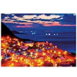 Hotkey Jigsaw Puzzles 1000 Piece for Adults, Landscape Building Pattern Puzzle Intellective Educational Toy BJ-16