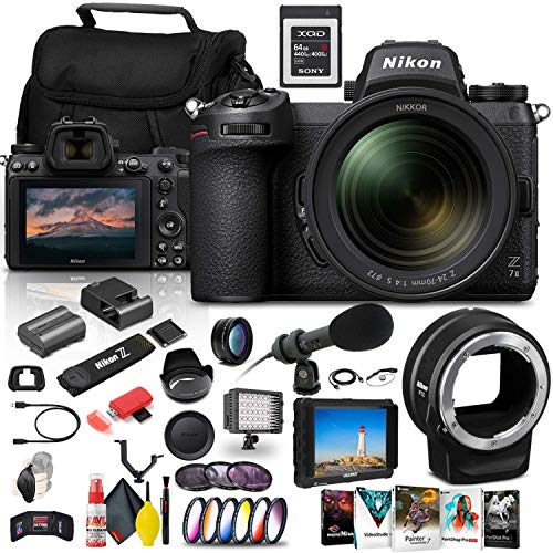Nikon Z 7II Mirrorless Digital Camera 45.7MP with...