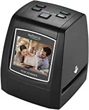 """$79 » High-Resolution 14MP/22MP Film Scanner Convert 35mm 135mm 126mm 110mm 8mm Color Monochrome Slide Film Negative into Digital Picture with 2.4"""" LCD Build-in Editing Software"""