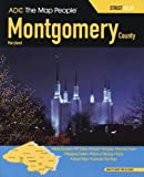 ADC The Map People Montgomery County, Maryland Atlas (MONTGOMERY COUNTY (MD) STREET MAP BOOK)