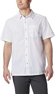 Columbia Men's PFG Slack Tide Camp Shirt , White, X-Large
