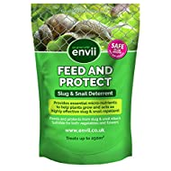 Envii Feed & Protect - Slug and Snail Repellent Improves Plant Growth and is Safe For Pets – Treats Up To 500m²