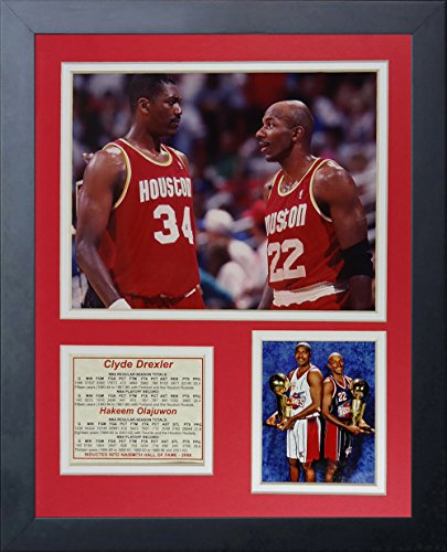 Houston Rockets NBA Framed 8x10 Photograph Team Logo and Basketball
