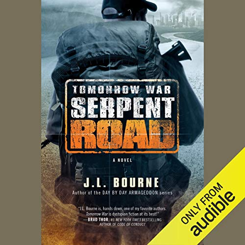 Tomorrow War: Serpent Road audiobook cover art