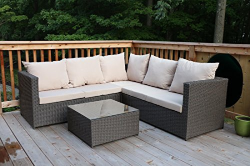 rattan sofa (lower quality)