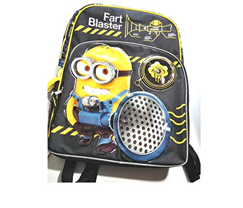 Back To School Backpack Despicable ME3 Fart Blaster