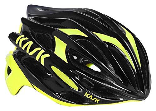 Kask Mojito 16 - Casco para bicicleta - Mixto para adultos, Multicolor (schwarz/gelb), M (52-58 cm)
