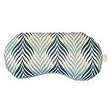 mojoo Yoga Augenkissen mit Bio Lavendel-, und Bio Leinsamen - Yoga Kissen - Schlafmaske - Entspannung Kissen - Yogakissen - Aroma Therapie - Lavendel Duft führt zu Gute Laune (Tropical Green)