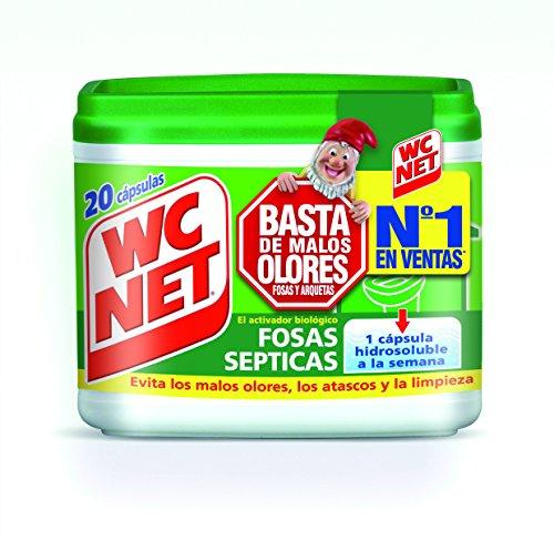 Wc Net Fosa Septica Wc Net Fosas Septicas 20 Capsulas x 18 g, Multicolor