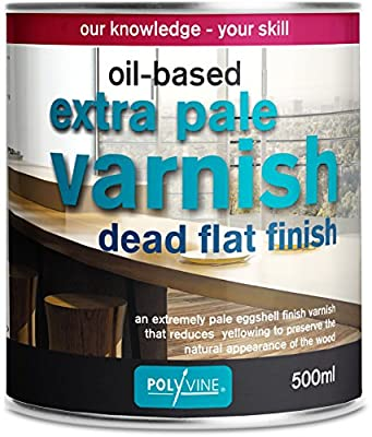 Polyvine Oil-based Extra Pale Varnish Dead Flat