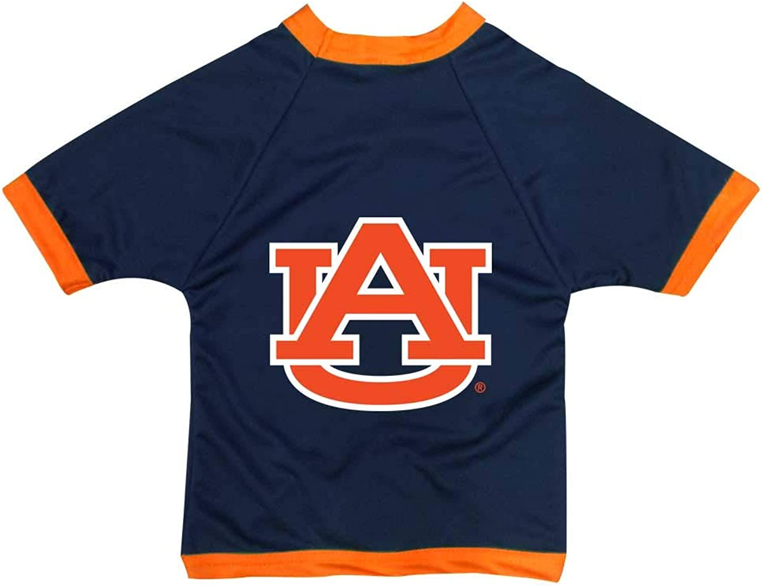 All Star Dogs Auburn Tigers Athletic Mesh Dog Jersey (Team color, XXLarge)