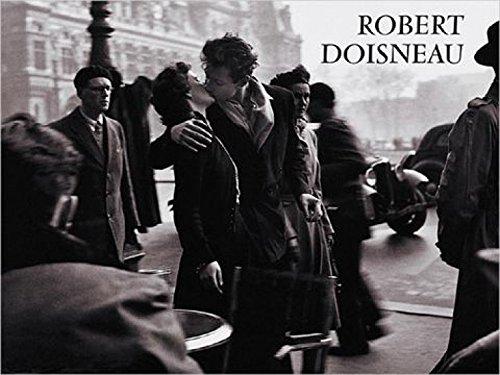 1art1 Robert Doisneau, Der Kuss Vor Dem Rathaus, Paris 1950 Poster Kunstdruck (80x60 cm) Inklusive 1x 1art1® Collection Poster