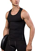Herren Kompressions-Shirt, Achselshirt, Ärmelloses, Sportswear, Quick Dry, für Gym Fitness Yoga