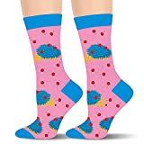 Funny Hedgehog Socks for Women Ladies Teen Girls- Cute Fun Animal Crazy Novelty Funky Silly Fancy Socks Stocking Stuffers Christmas Gifts for Mom Sister