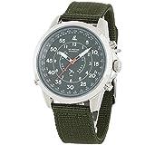 [LAD WEATHER] GPS Orologio militare modalità aereo Manuale / Automatica Impostazione...