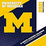 Michigan Wolverines 2021 12x12 Team Wall Calendar