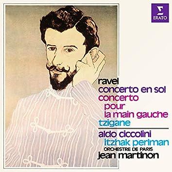 Ravel: Concerto en sol, Concerto pour la main gauche & Tzigane