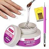 Morovan LED/UV Gels Builder Gel Nail Extension Gel Nail Strengthen UV Gel Nail