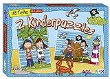 Ronja & Finn Kinderpuzzle 2er Piraten 2 x Puzzle mit je 48 Teilen Kinder Lernspiel