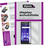 dipos I 2X Schutzfolie klar kompatibel mit Mobistel Cynus F10 Folie Bildschirmschutzfolie