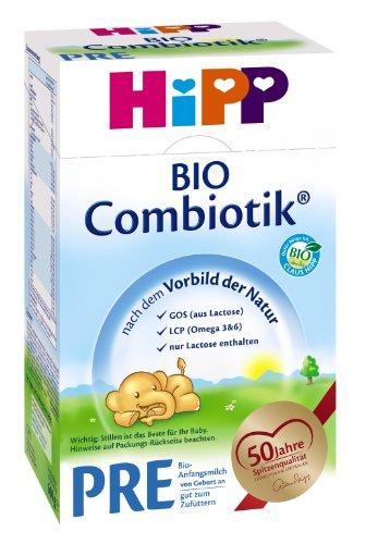 Hipp Bio Combiotik Pre - von Geburt an, Anfangsmilch, 600g