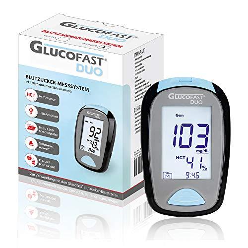 Glucofast Duo Blutzucker-Messsystem mmol/L