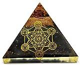 Shungite Orgonite Pyramid with 7 Chakra...