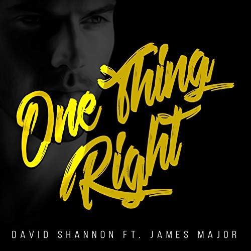 David Shannon feat. James Major