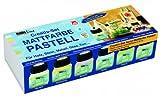 KREUL Hobby Line 75615 - Set de Pinturas acrílicas (6 Botes de 20 ml), Colores Pastel [Importado de Alemania]