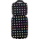 Valise Cabine RYANAIR et reporter David Jones - Couleur LITTLE POIS - 2 roulettes