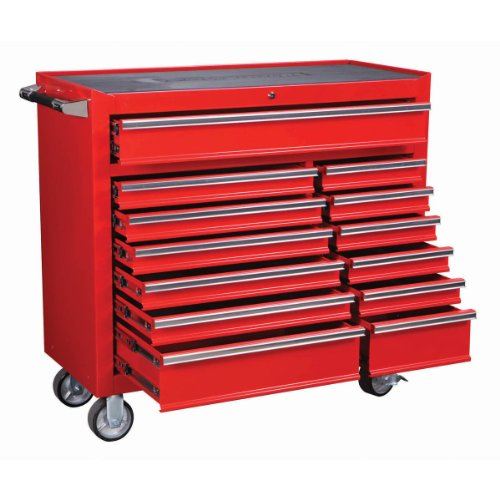 ROLLER CABINET 2633 LB CAPACITY INDUSTRIAL QUALITY 13 DRAWER 44'