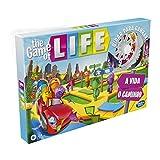 Hasbro The Game of Life - Juego de Mesa para la Familia de 2 a 4 Jugadores, para niños a Partir de 8 años, Incluye Clavijas de Colores