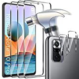 Msm-case [3 + 2 Pieces Tempered Glass Compatible with
