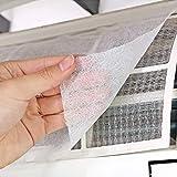 LSGDSXMIY Hogar filtro de aire acondicionado polvo de entrada de aire cubierta de polvo filtro de papel de filtro de purificación de aire filtro de polvo de algodón red de aislamiento