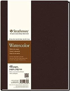 Strathmore (467-8 STR-467-8 48 Sheet No 140 Watercolor Art Journal, 8.5 by 11
