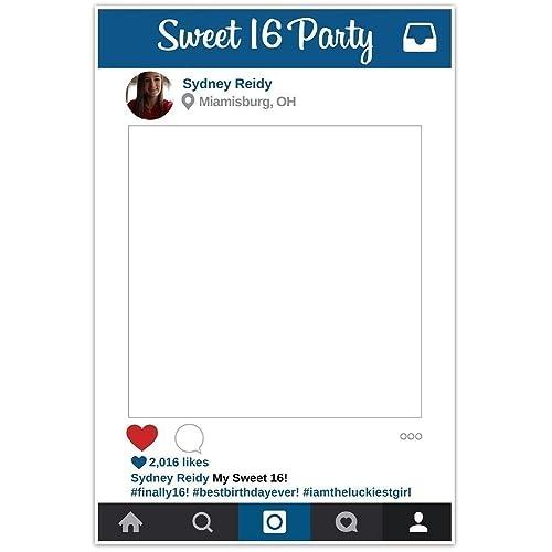 Instagram Frame Prop Amazoncom