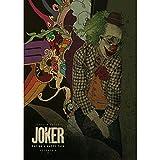 LWJPD Cuadro sobre Lienzo 50x70cm Sin Marco Póster De Película Joker Impresiones En Lienzo Imagen De Diseño Para El Hogar Arte De Pared De Oficina
