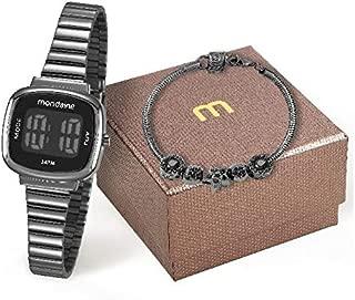 Relógio Feminino Digital Mondaine Berloques 53717LPMVPE3K1