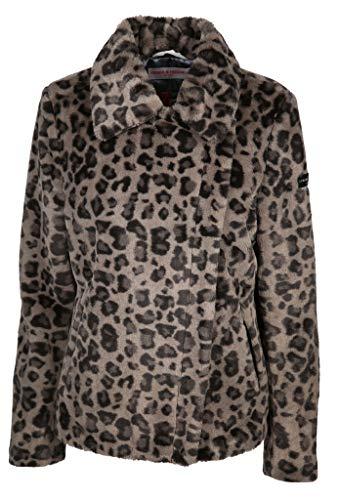 Frieda & Freddies Damen Jacke Größe 44 EU Braun (Taupe)